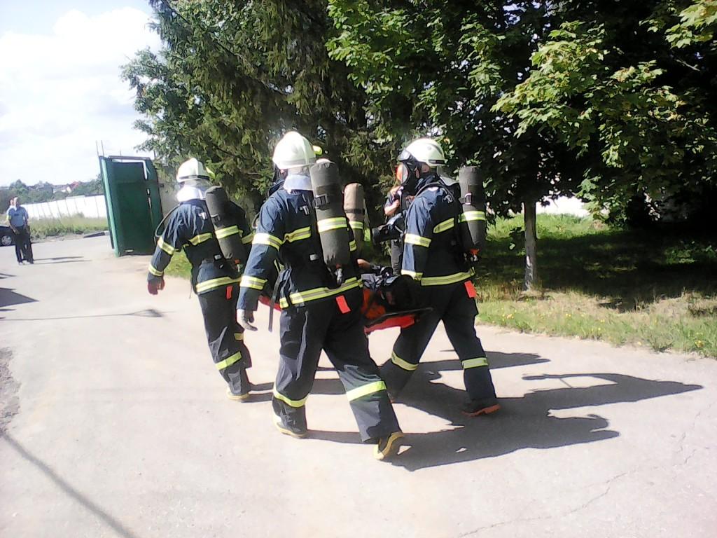 В поселении Новофедоровское прошли учения по ликвидации чрезвычайных ситуаций