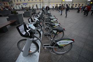 С начала года москвичи арендовали велосипеды более 500 тысяч раз
