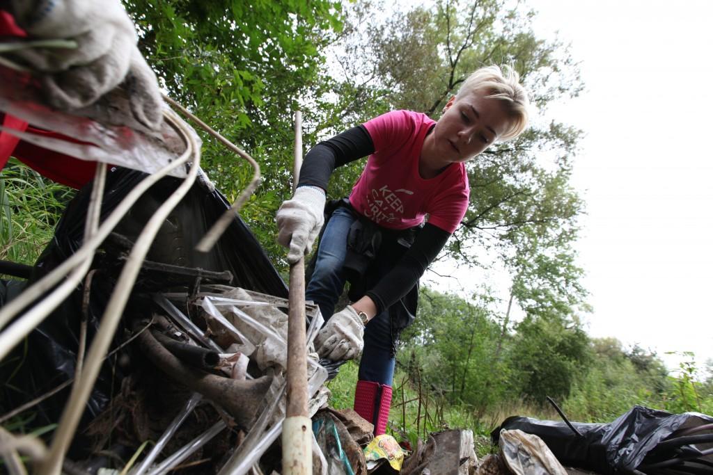 Участники экологической акции «Анти-Пластик» собрали 260 килограммов мусора