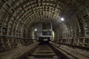 Учения в метро Новоясеневская.