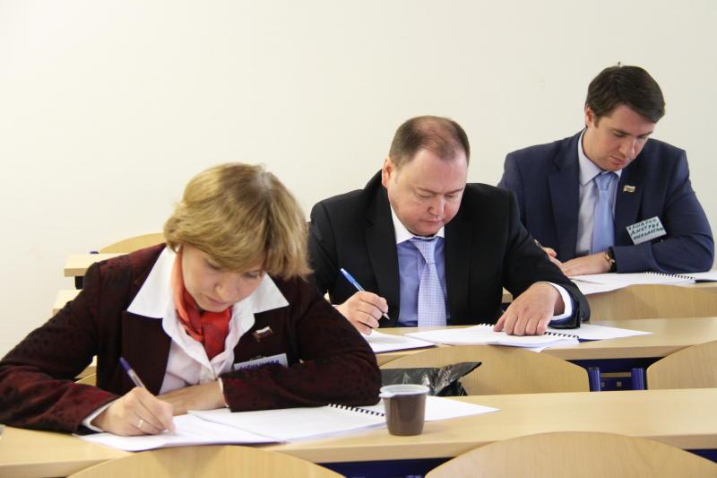 В Информационном центре подвели итоги конкурса на зачисление в кадровый резерв