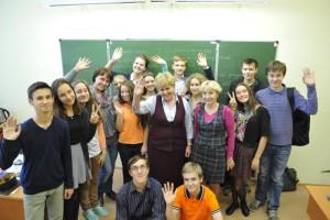 Директор лицея №1535 Татьяна Васильевна и дети