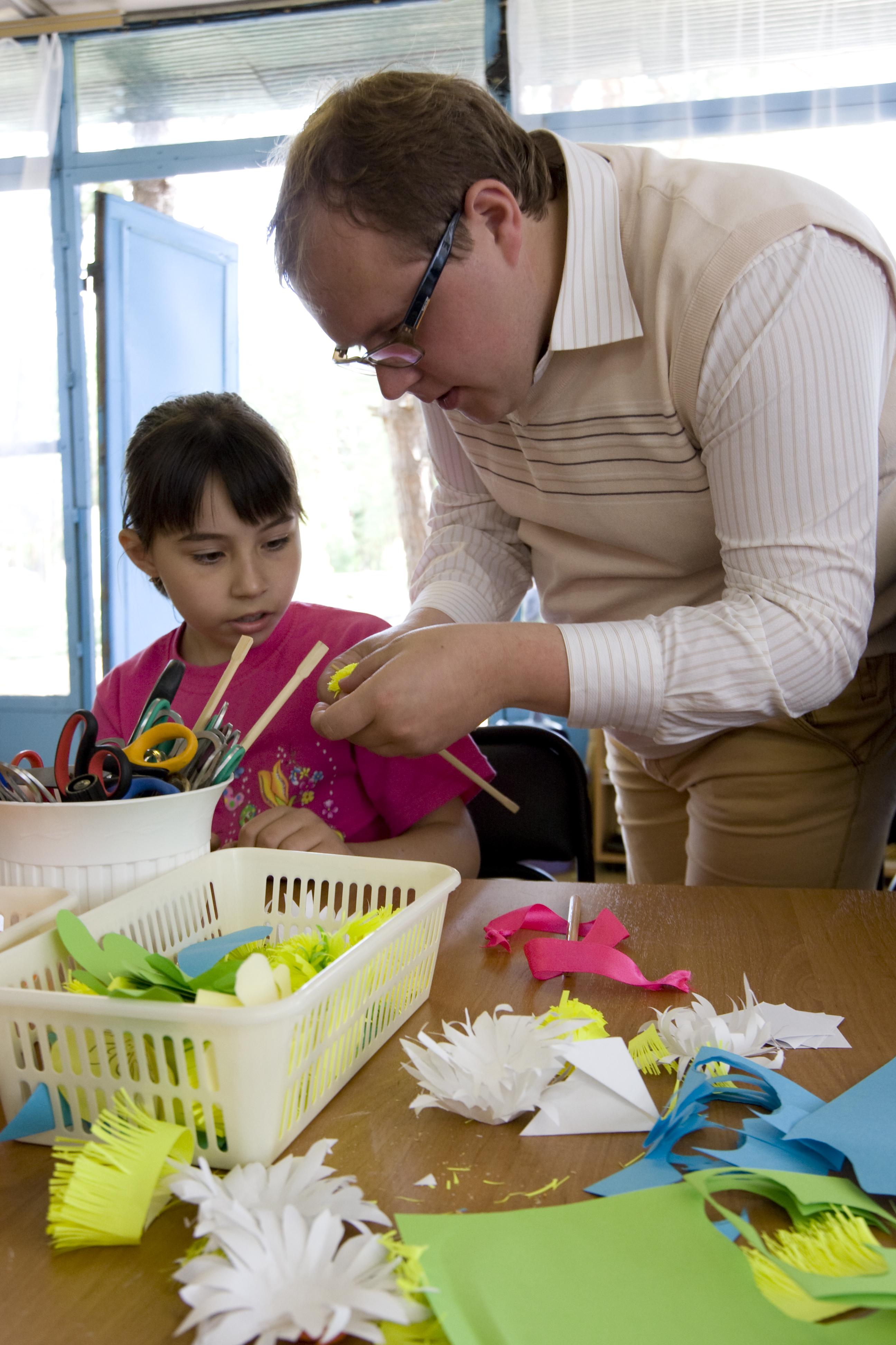 В библиотеке Воскресенского прошла акция «Калейдоскоп семейного досуга»