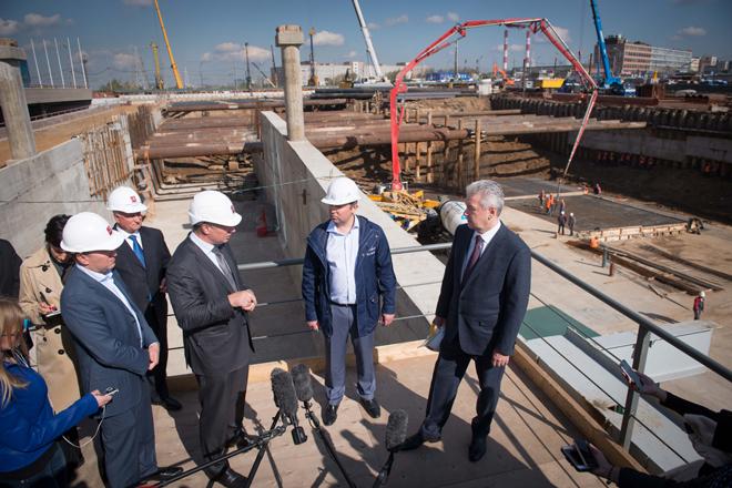 Строительство Северо-Восточной хорды будет окончено в 2016 году
