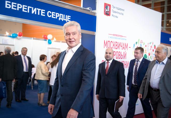 Собянин: В Москве налажена системная работа по профилактике сердечно-сосудистых заболеваний