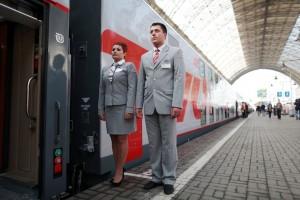 Дата: 30.08.2013, Время: 09:45 Презентация двухэтажного поезда, который с ноября будет ходить по маршруту Москва-Адлер