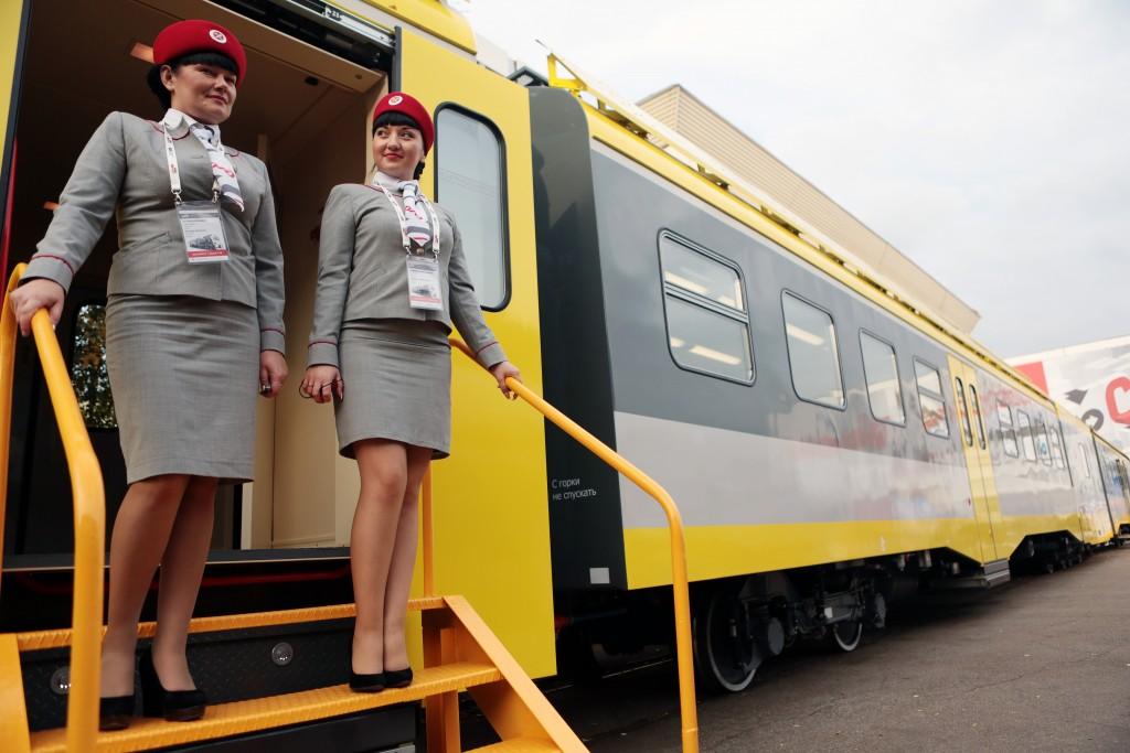 Международный железнодорожный салон открылся в Щербинке в пятый раз
