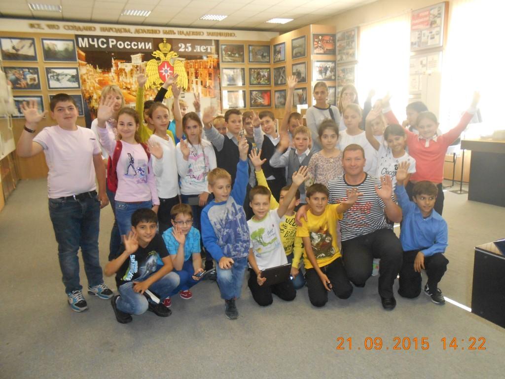 Учащиеся из Новой Москвы побывали в Музее пожарной охраны