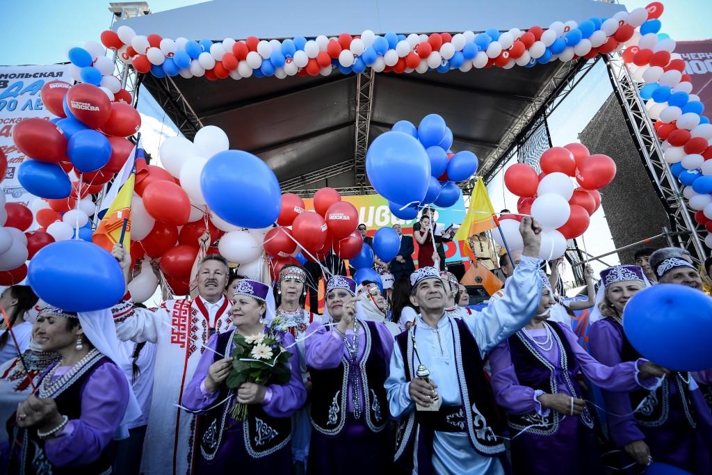 «Народы Москвы» встретятся на Пушкинской площади