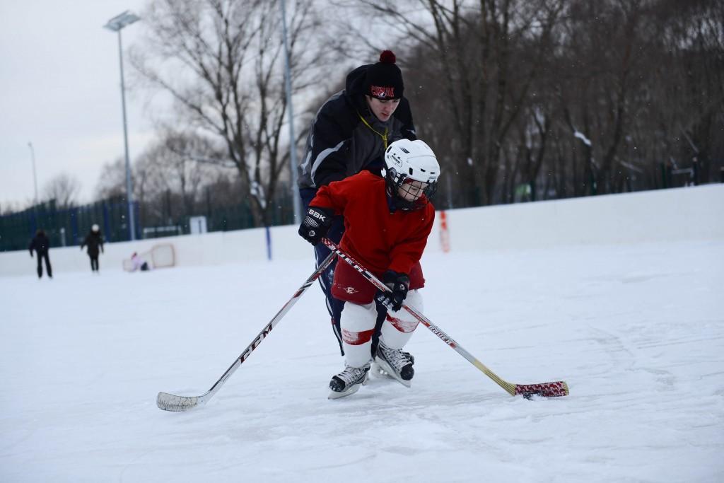 Центром зимних развлечений в Щербинке станет площадь у Дворца культуры