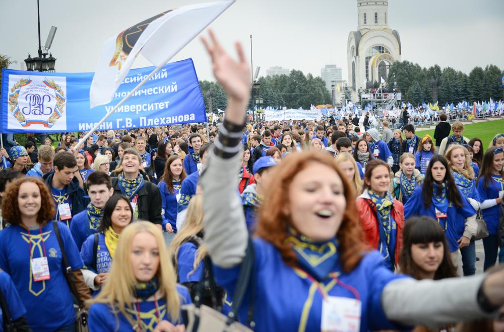 Парад российского студенчества станет общероссийским