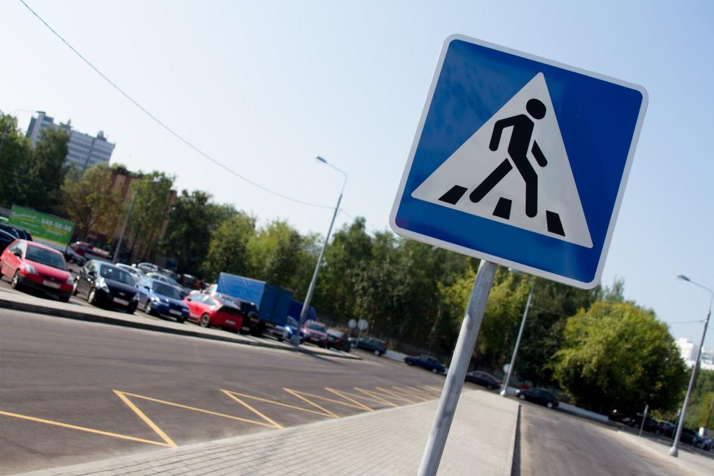 На Железнодорожной улице появился новый пешеходный переход