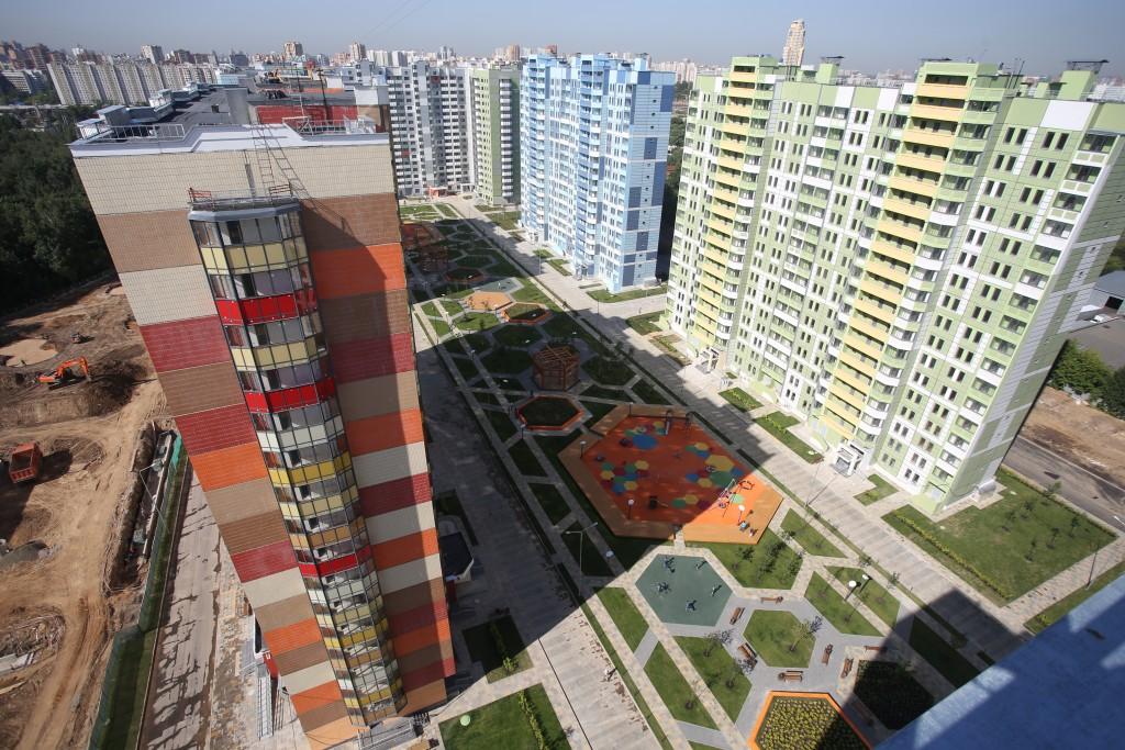 Возле станции метро «Саларьево» построят жилой район