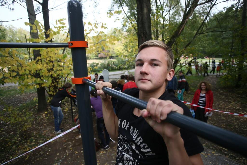 Осенний фестиваль сдачи норм ГТО состоялся в Москве