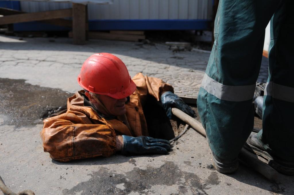В Щербинке проверили водопроводные и канализационные системы