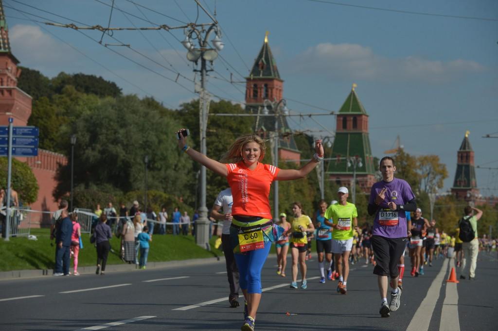 Более 20 тысяч человек приняло участие в III Московском марафоне
