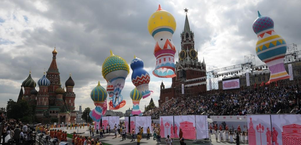 Празднование Дня города Москвы начнется с гимна