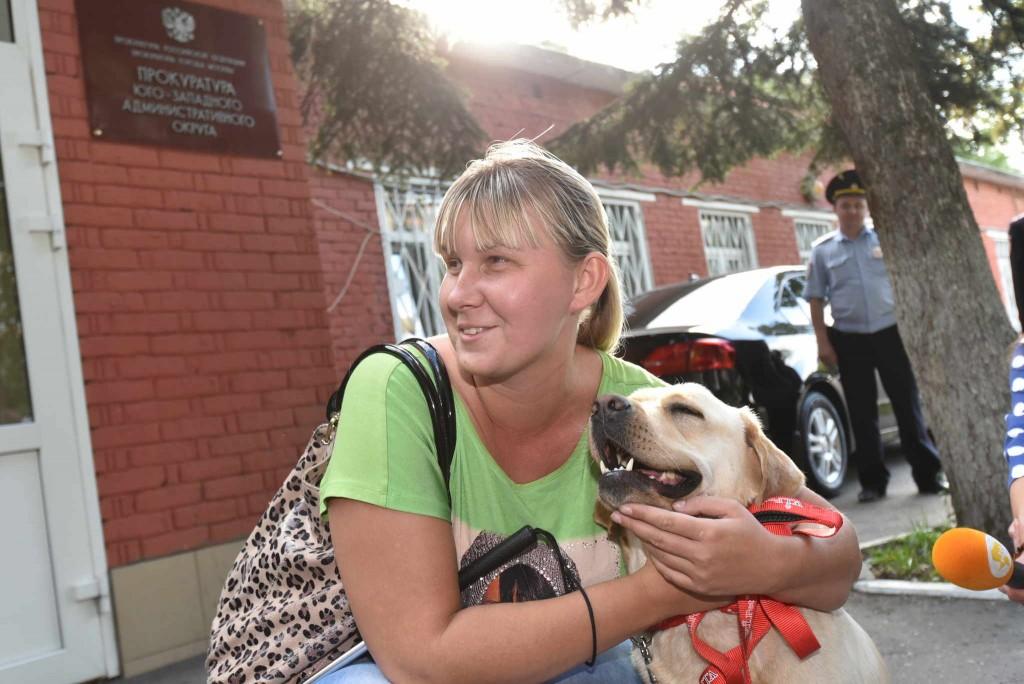 Акция «За любимой собакой и убрать не стыдно» прошла в Кокошкино