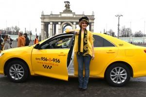 21 Марта 2015  Мэр Москвы Сергей Собянин принял участие в праздновании Международного дня такси на ВДНХ