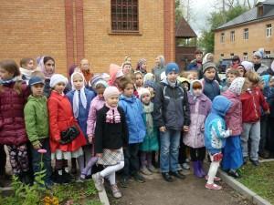 Дети из воскресной школы Щербинки поедут в Былово