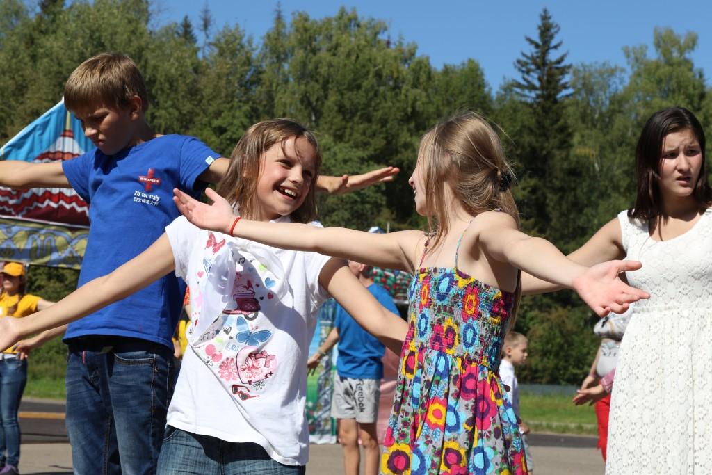 Дети насладились «Московскими каникулами»