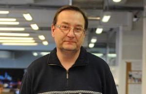 Сергей Самошин, шеф-редактор газеты «Новые Округа»