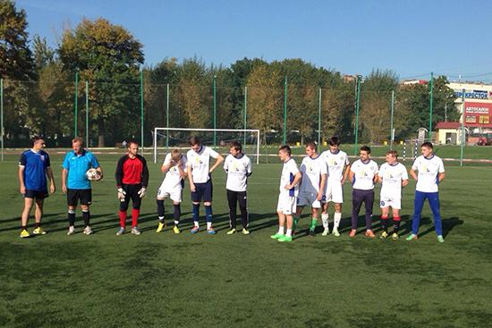 Cпортсмены Михайлово-Ярцевского выиграли окружной футбольный матч