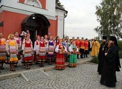 В храме Новофедоровского поселения освятили икону «Всецарица»