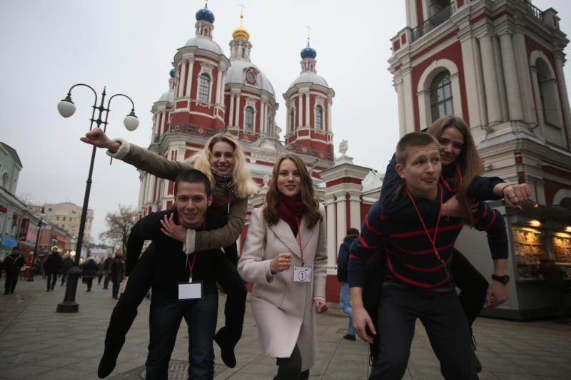 Проект «Узнай Москву» представит шесть авторских квестов