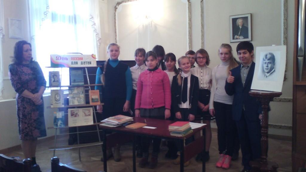 Урок по творчеству поэта Сергея Есенина прошел в Щаповской библиотеке