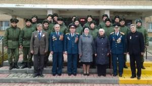 Ветераны Михайлово-Ярцевского встретились с зенитчиками из Краснопахорского