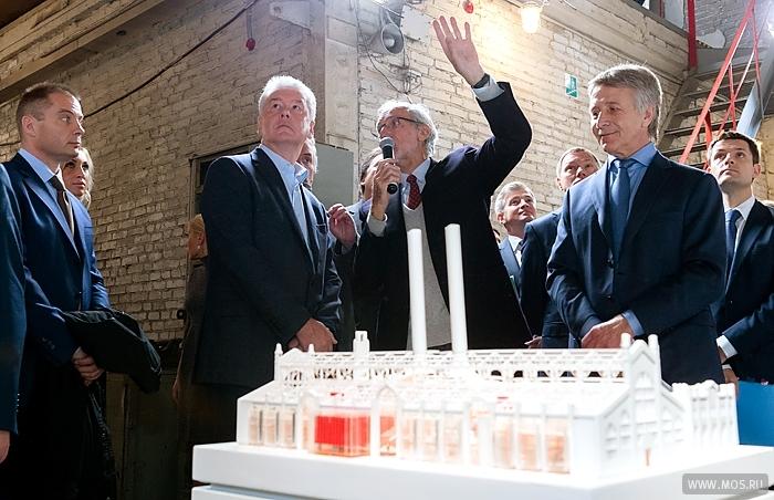 Собянин: Исторический облик  ГЭС-2 будет воссоздан
