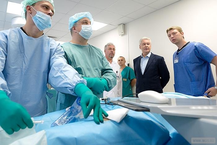 В Москве открылся лучший в Европе медицинский учебный центр