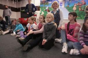 Детям из Марушкино показали