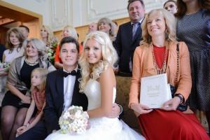 Дата: 09.09.2015, Время: 13:21 Регистрация брака в день красоты в Грибоедовском Загсе