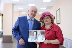 Награждение пожилых пар
