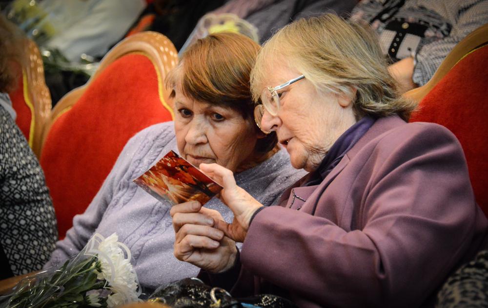 В Рассказовке отпраздновали День пожилого человека