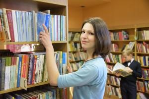 Волонтер в детской библиотеке имени братьев Гримм