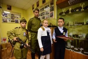 Внуковские кадеты посетили пограничный музей