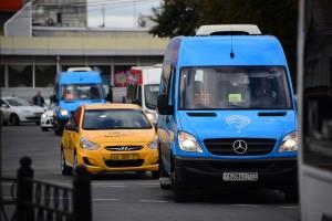Новые маршрутные такси на ТПУ Сходненская