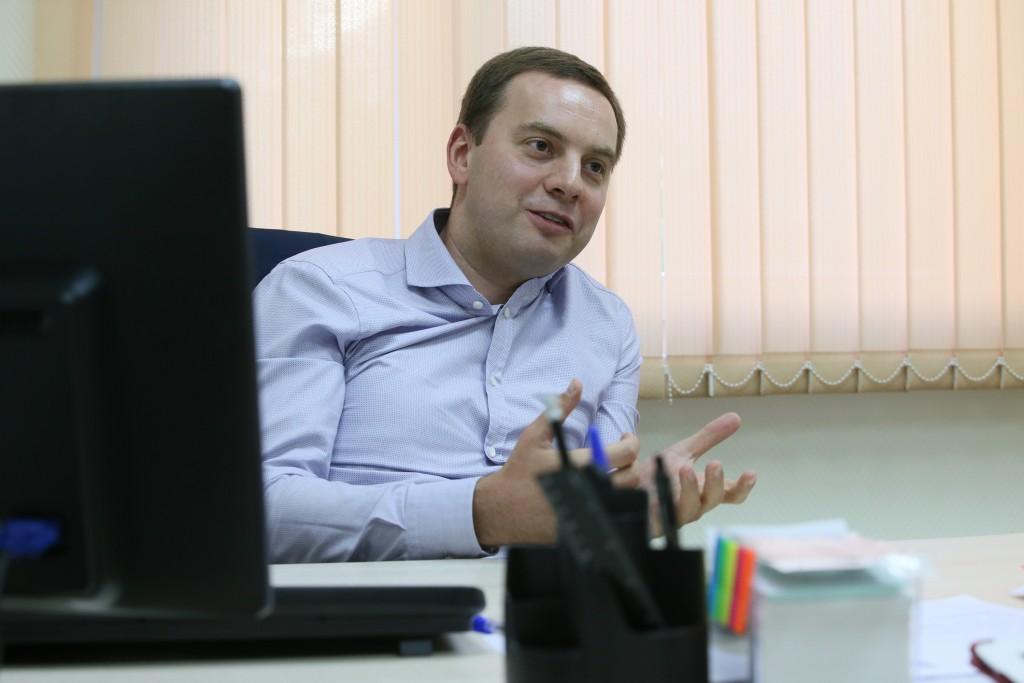 Москва.ТиНАО. Зампрефекта ТиНАО Алексей Кондаранцев.