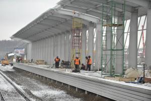 Пресс-тур по московской кольцевой железной дороге.