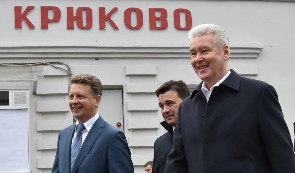 Электрички Зеленоград-Москва отходят каждые 5-7 минут - Собянин