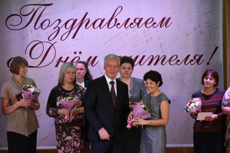 Собянин: Московские школы заслуженно являются лучшими в стране