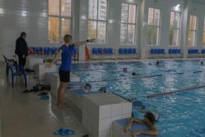 В бассейне Московского прошла открытая тренировка