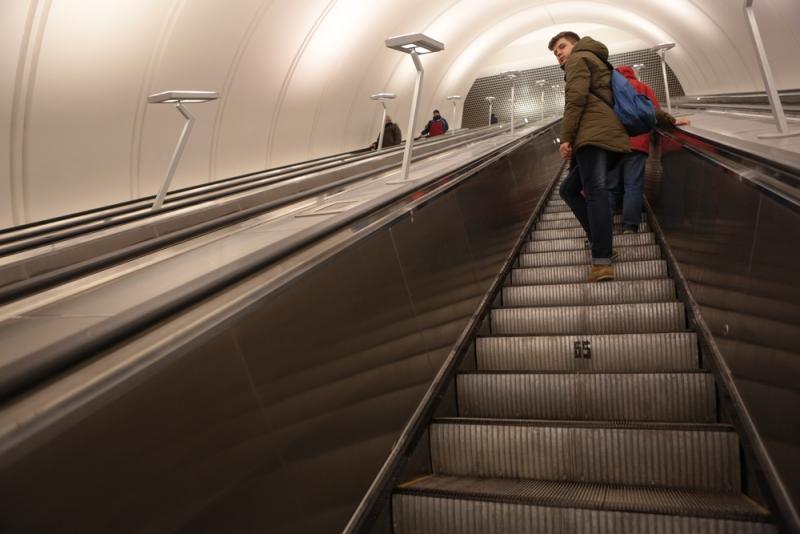 В московском метро увеличится пропускная способность эскалаторов