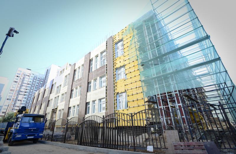 С начала года в Новой Москве введено 75 тысяч «квадратов» социальных объектов
