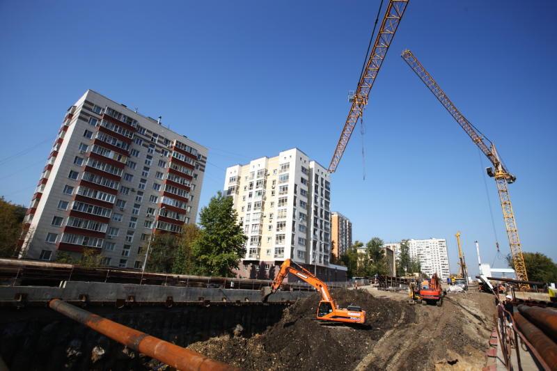 Показатель ввода жилья в Новой Москве вырос по сравнению с прошлым годом