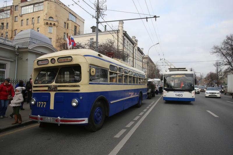 Горожане отметят Праздник московского троллейбуса