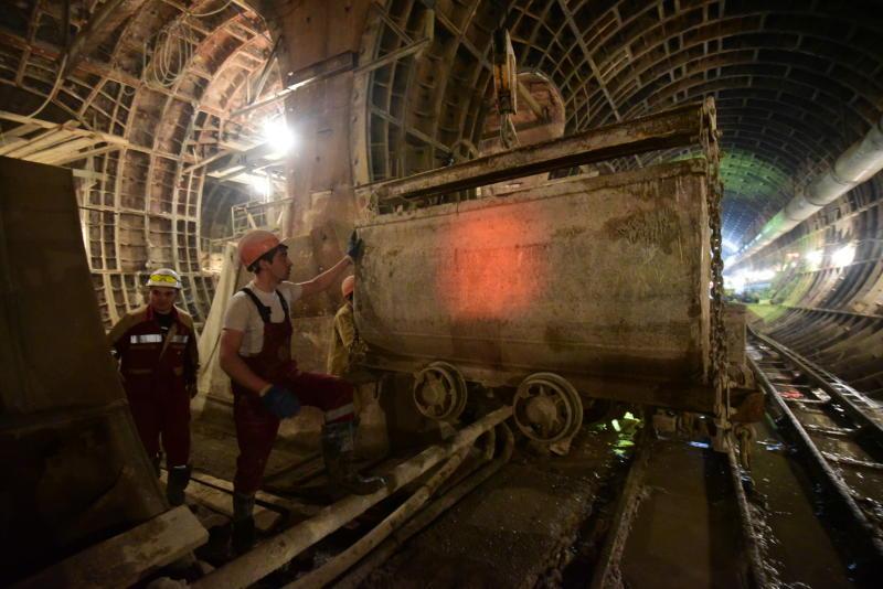 Не менее 20 километров линий подземки будут сдавать в Новой Москве